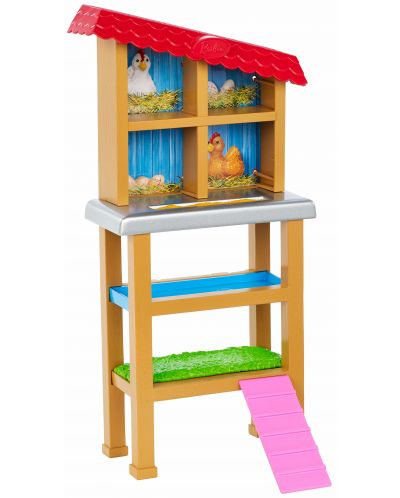Игрален комплект Mattel Barbie - Фермерка - 4