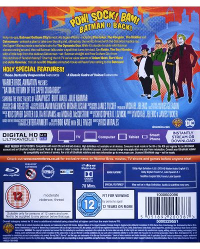 Batman: The Return of the Caped Crusader (Blu-Ray) - 2