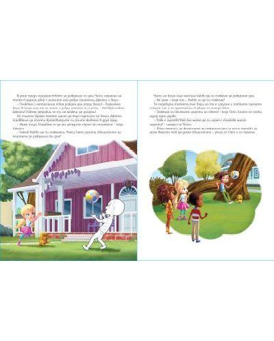 Чети, оцвети, залепи! Барби Dreamtopia - 3