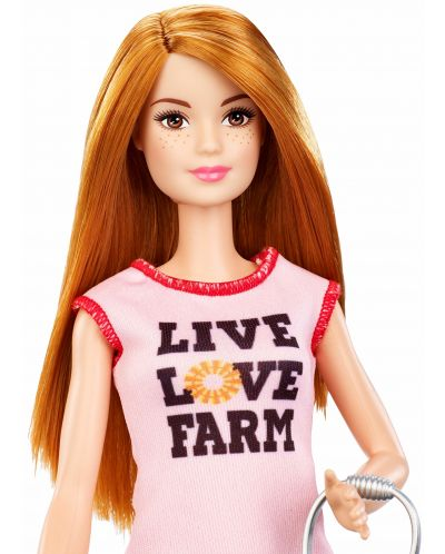 Игрален комплект Mattel Barbie - Фермерка - 5