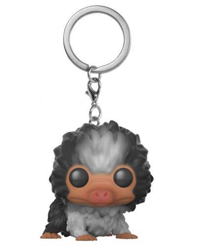Ключодържател Funko Pocket Pop! Fantastic Beasts 2 - Baby Niffler: White & Gray - 1
