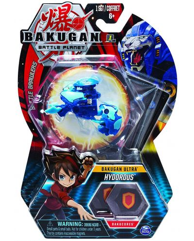 Игрален комплект Spin Master Bakugan Battle Planet - Ултра топче, асортимент - 9