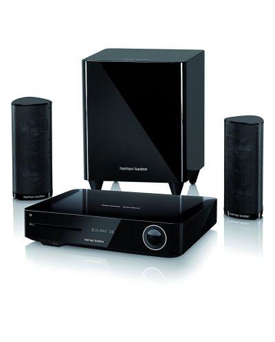 Система за домашно кино harman/kardon BDS 385S - 2.1, черна и Blu-Ray система - 1