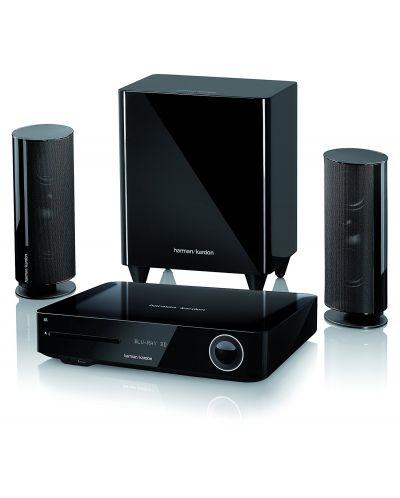 Система за домашно кино harman/kardon BDS 485S - 2.1, черна и Blu-Ray система - 1