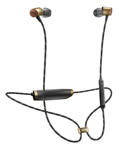 Безжични слушалки с микрофон House of Marley - Uplift 2, brass - 3