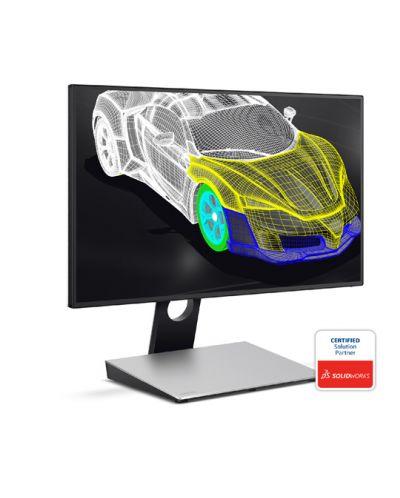 "BenQ PD2710QC, 27"" Wide IPS Ant-Glare, 5ms GTG, 1000:1, 20M:1 DCR, 350 cd/m2, 2560x1440 QHD, 100% sRGB, HDMI, DP, USB-C Docking, Height Adjustment, Pivot, Black&Silver - 16"
