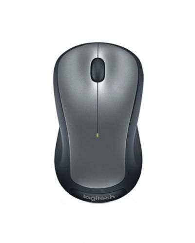 Безжична мишка Logitech - M310 - 2.4GHz, сива - 1