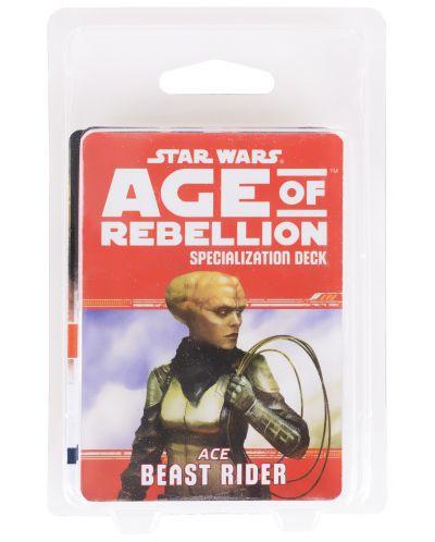 Допълнение за ролева игра Star Wars: Age of Rebellion - Beast Rider Specialization Deck - 2