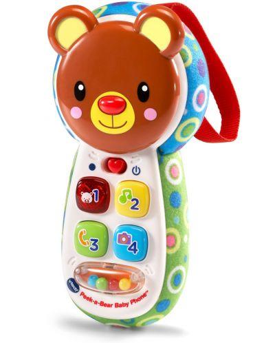 Бебешки играчка Vtech - Телефон, меченце - 1