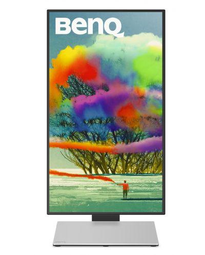 "BenQ PD2710QC, 27"" Wide IPS Ant-Glare, 5ms GTG, 1000:1, 20M:1 DCR, 350 cd/m2, 2560x1440 QHD, 100% sRGB, HDMI, DP, USB-C Docking, Height Adjustment, Pivot, Black&Silver - 3"