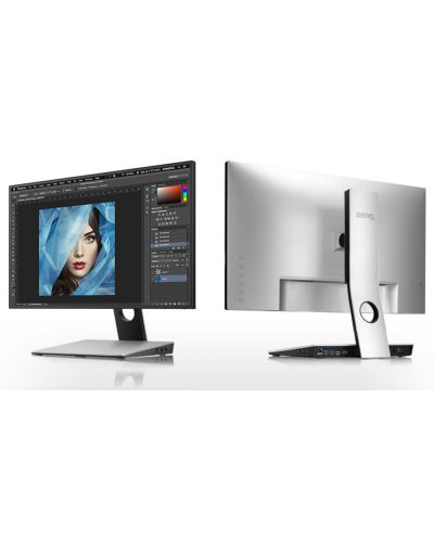 "BenQ PD2710QC, 27"" Wide IPS Ant-Glare, 5ms GTG, 1000:1, 20M:1 DCR, 350 cd/m2, 2560x1440 QHD, 100% sRGB, HDMI, DP, USB-C Docking, Height Adjustment, Pivot, Black&Silver - 18"