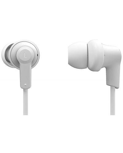 Слушалки с микрофон Panasonic RP-NJ300BE-W - бели - 3
