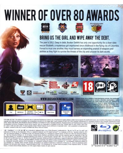BioShock Infinite (PS3) - 5