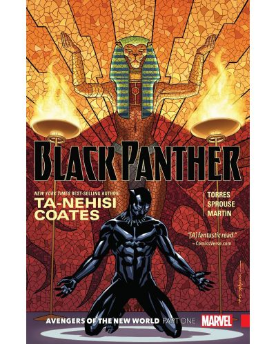 Black Panther Book 4: Avengers of the New World, Part 1 - 1