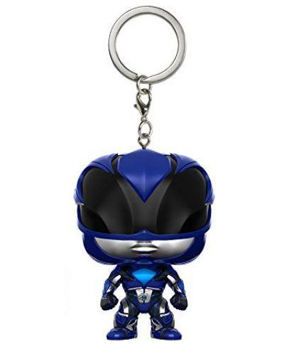Ключодържател Funko Pocket Pop! Power Rangers - Blue Ranger - 1
