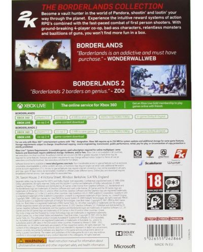 The Borderlands Collection (Xbox 360) - 3
