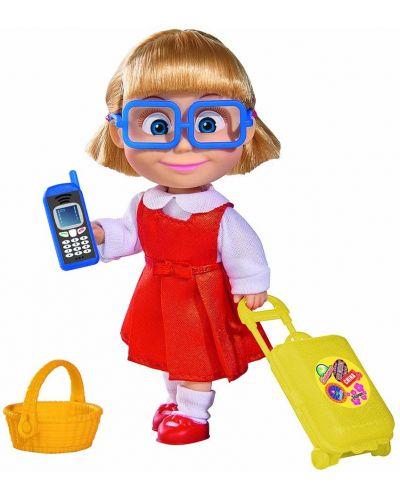 Кукла Simba Toys Маша и Мечока - Даша, братовчедката на Маша - 1