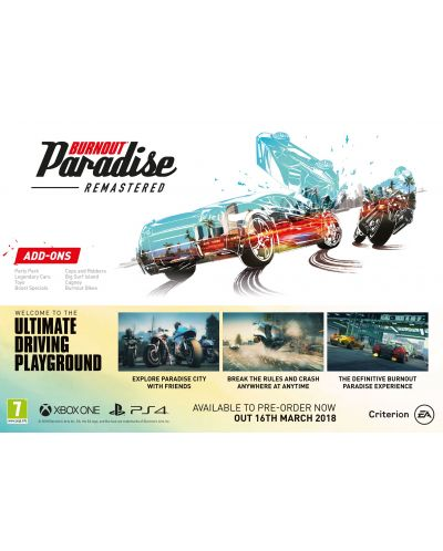 Burnout Paradise Remastered (PS4) - 3