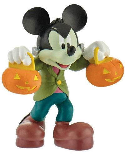Фигурка Bullyland Mickey Mouse & Friends - Мики Маус, с костюм за Хелоуин - 1