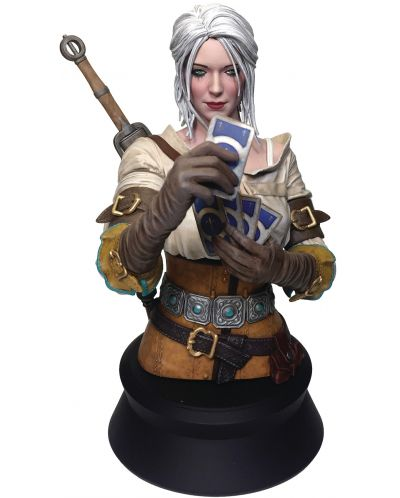 Бюст Dark Horse The Witcher - Ciri Playing Gwent, 20 cm - 1