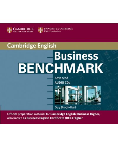 Business Benchmark Advanced Audio CD BEC Higher - 1