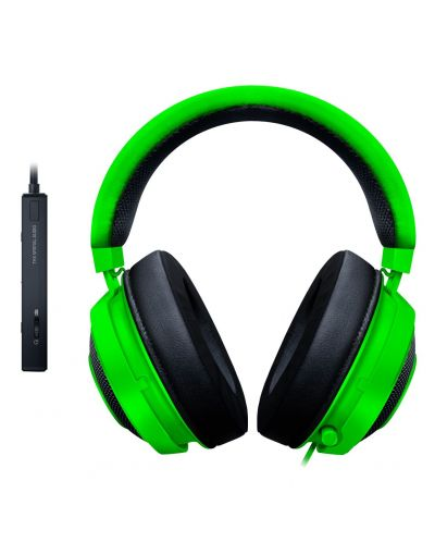 Гейминг слушалки Razer Kraken Tournament Edition - Green - 4