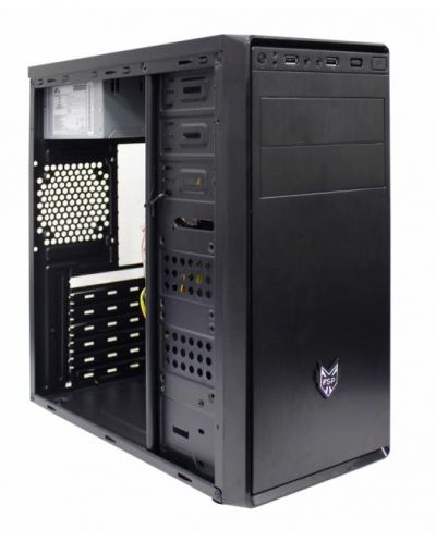 Кутия FSP Group - CMT130, Middle Tower, черна - 4