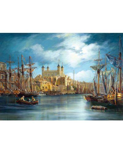 Пъзел Castorland от 3000 части - Зазоряване на пристанището - 2