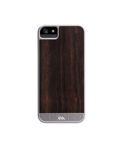 Калъф CaseMate Wood Rosewood за iPhone 5 - 4