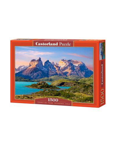 Пъзел Castorland от 1500 части - Планина в Чили - 1