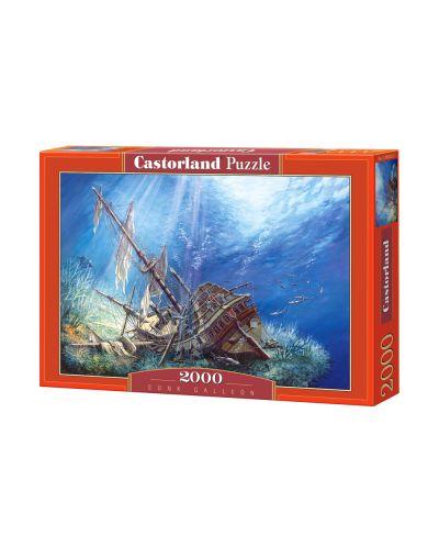 Пъзел Castorland от 2000 части - Потънал кораб - 1