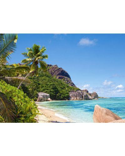 Пъзел Castorland от 3000 части - Тропически плаж, Сейшелите - 2
