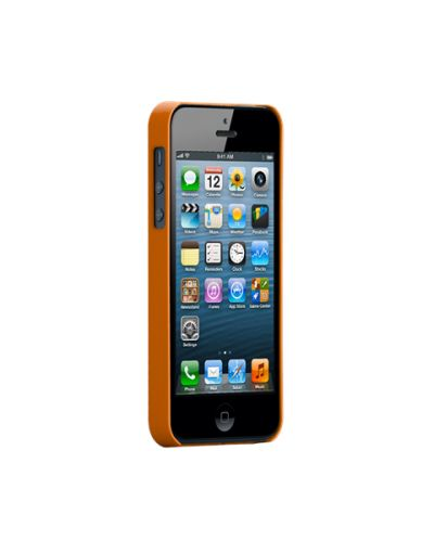 Калъф CaseMate Barely There за iPhone 5, Iphone 5s -  оранжев - 2