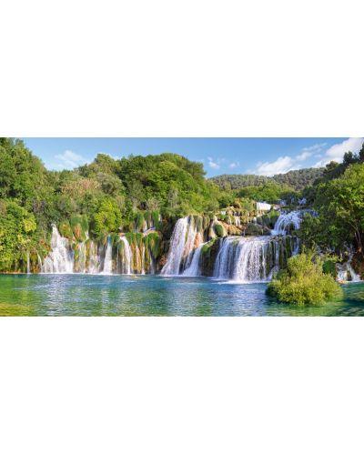 Пъзел Castorland от 4000 части - Водопадите в Крка, Хърватия - 2