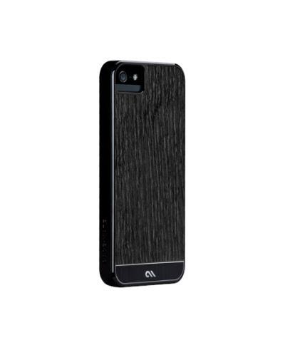Калъф CaseMate Wood Black Ash за iPhone 5 - 1