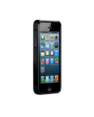 Калъф CaseMate Wood Black Ash за iPhone 5 - 6