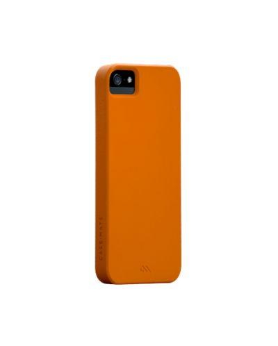 Калъф CaseMate Barely There за iPhone 5, Iphone 5s -  оранжев - 1