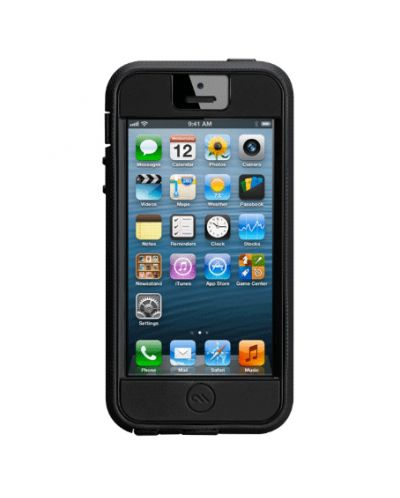 CaseMate Extreme Tough Case за iPhone 5 -  черен - 2