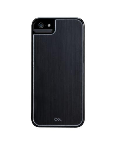 CaseMate Brushed Aluminium за iPhone 5 -  черен - 1