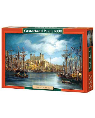 Пъзел Castorland от 3000 части - Зазоряване на пристанището - 1