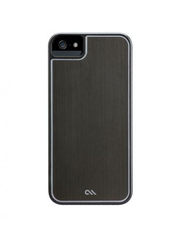 CaseMate Brushed Aluminium за iPhone 5 -  сив - 3
