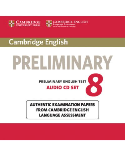 Cambridge English Preliminary 8 Audio CDs (2) - 1