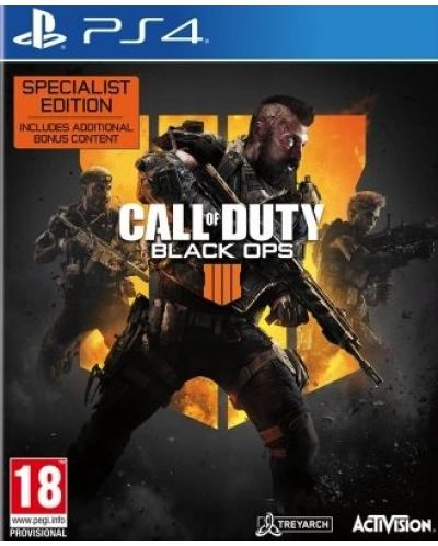 Call of Duty: Black Ops 4 - Specialist Edition (PS4) - 1