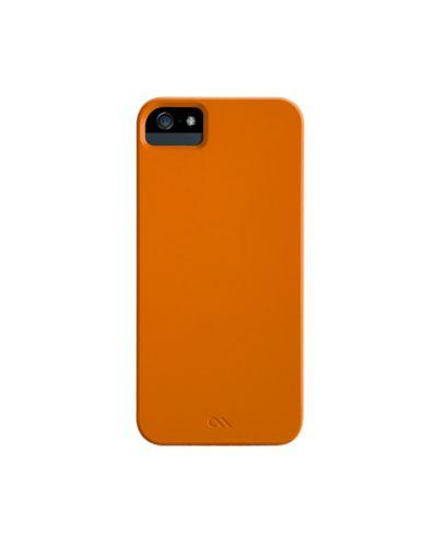 Калъф CaseMate Barely There за iPhone 5, Iphone 5s -  оранжев - 3