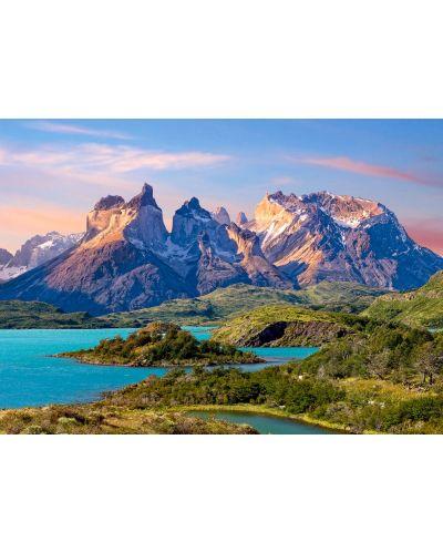 Пъзел Castorland от 1500 части - Планина в Чили - 2