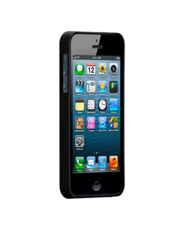 Калъф CaseMate Barely There за iPhone 5, Iphone 5s -  черен - 2