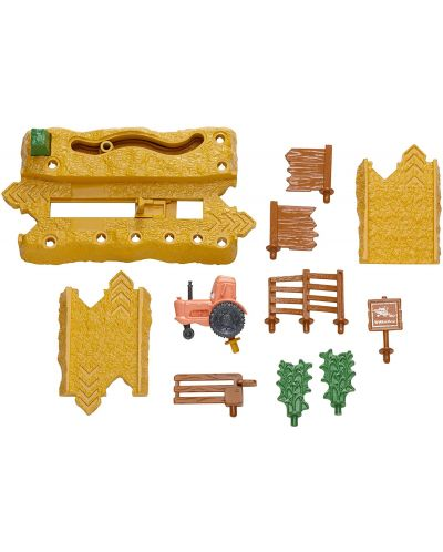 Игрален комплект Mattel Cars Story Sets - Tractor Tippin, Deluxe - 2