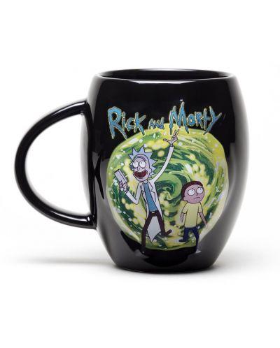 Чаша GB еye Rick & Morty - Portal Oval, 450 ml - 1
