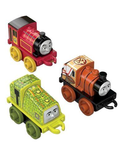 Комплект Fisher Price Thomas & Friends - Мини локомотиви, 3 броя, асортимент - 2