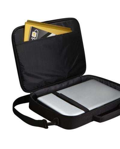 """Чанта за лаптоп Case Logic VNCI-215 15.6"""" - черна - 4"""